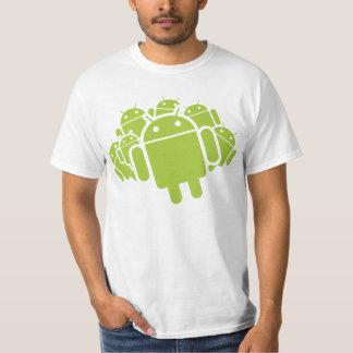 人間の特徴をもつ突進 Tシャツ