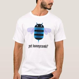 人間の特徴をもつ蜜蜂の巣 Tシャツ