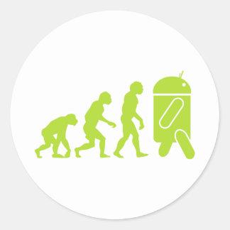 人間の特徴をもつ進化 ラウンドシール