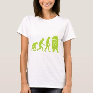 人間の特徴をもつ進化 Tシャツ