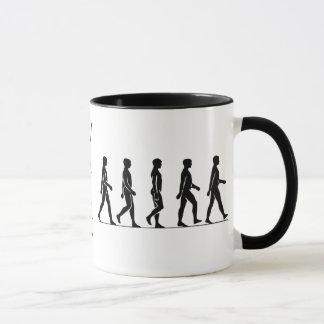 人間の移動 マグカップ