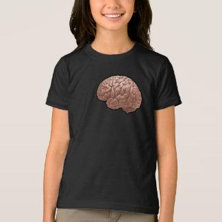 人間の脳の女の子のTシャツ Tシャツ