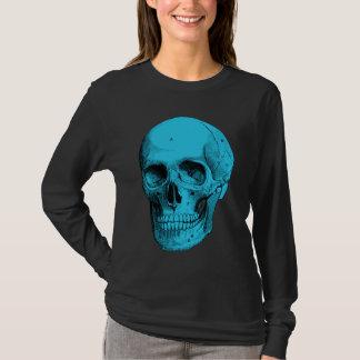 人間の解剖学のスカル Tシャツ