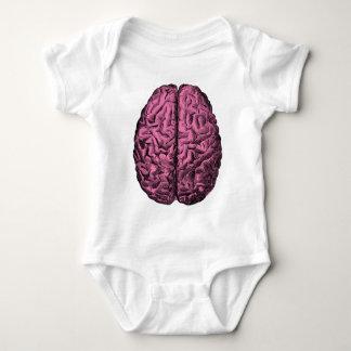 人間の解剖学の頭脳 ベビーボディスーツ