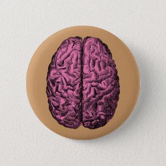 人間の解剖学の頭脳 缶バッジ