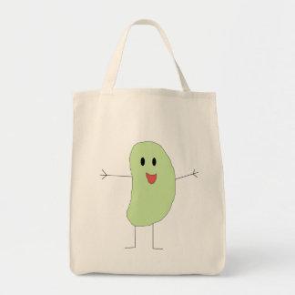 人間の豆バッグ トートバッグ