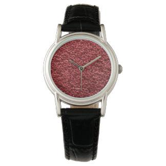 人間の赤血球の芸術的な腕時計 腕時計