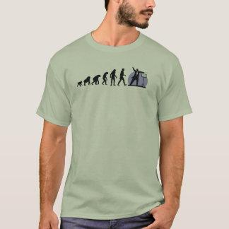 人間の進化: コンダクター Tシャツ