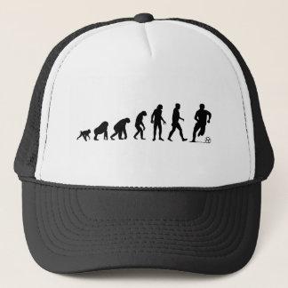 人間の進化: サッカーの帽子 キャップ