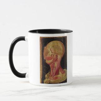 人間の頭の解剖スケッチ マグカップ