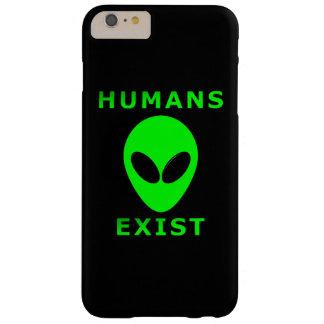 人間はiPhone 6/6s場合と存在しています Barely There iPhone 6 Plus ケース