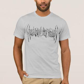 人間性の最後の呼吸ロゴのティー Tシャツ