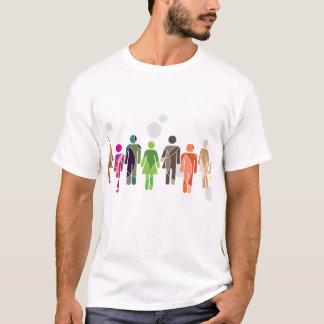 人間性の虹 Tシャツ
