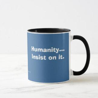 人間性 マグカップ
