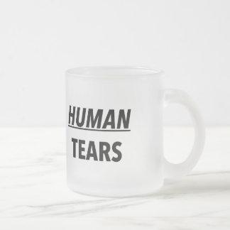 人間破損 フロストグラスマグカップ