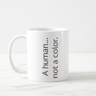 人間…ない色 コーヒーマグカップ