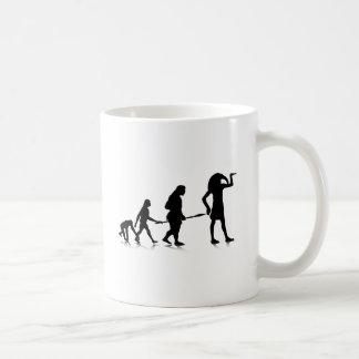 人間Evolution_12 コーヒーマグカップ