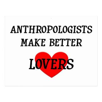人類学者はよりよい恋人を作ります ポストカード