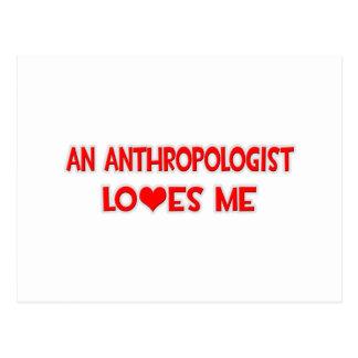 人類学者は私を愛します ポストカード