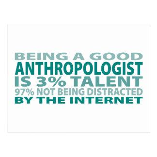 人類学者3%の才能 ポストカード
