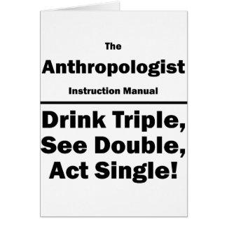 人類学者 カード
