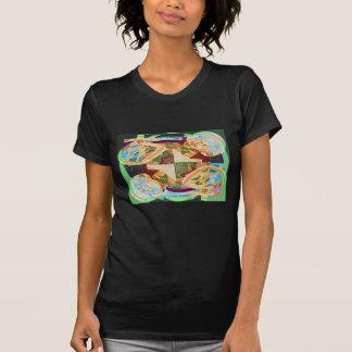 人類遺伝学-変更の性の記号 Tシャツ