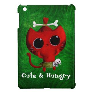 人食いのハロウィン愛らしい猫 iPad MINI カバー