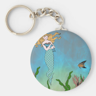 人魚およびシール キーホルダー