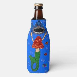 人魚および鮫のボトルのクーラー ボトルクーラー