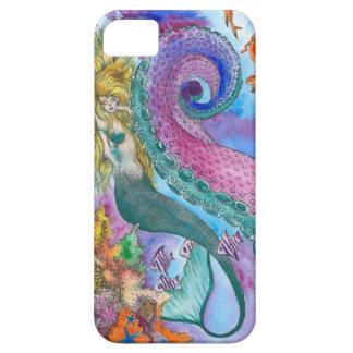 人魚およびKrakenの電話例 iPhone SE/5/5s ケース