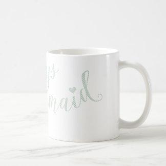 人魚のタイポグラフィの引用文の常にデザイン コーヒーマグカップ