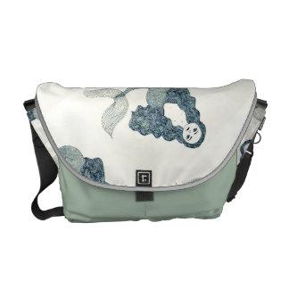 人魚のバッグ メッセンジャーバッグ