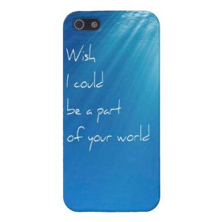 人魚のファンタジーの願いのIphone 5の場合 iPhone 5 Cover