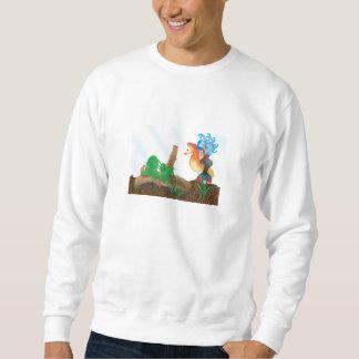 人魚の基本的なスエットシャツ スウェットシャツ