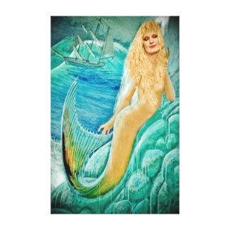 人魚の女神Atargatis キャンバスプリント