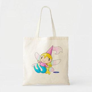 人魚の妖精の王女のバッグ トートバッグ