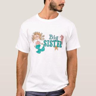 人魚の姉のTシャツ Tシャツ