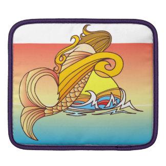 人魚の子供 iPadスリーブ