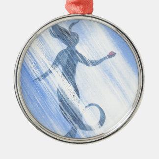 人魚の宝物 メタルオーナメント