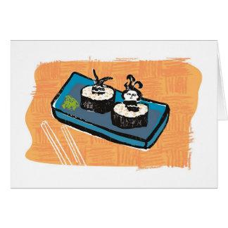 人魚の寿司 カード