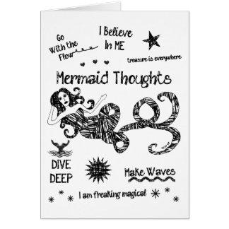 人魚の思考 カード