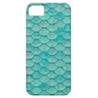 人魚の海緑のスケール iPhone SE/5/5s ケース