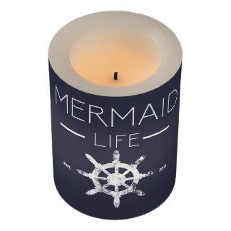 人魚の生命蝋燭 LEDキャンドル