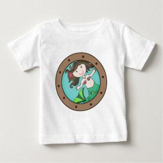 人魚の蒸気口 ベビーTシャツ