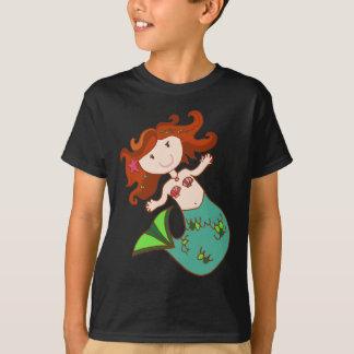 人魚の赤毛 Tシャツ