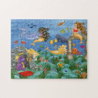 人魚の魔法のパズル パズル