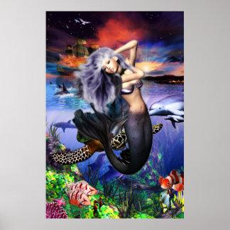 人魚のFantaseaポスター ポスター