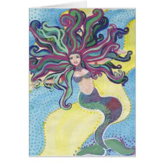 人魚のjoywater グリーティングカード