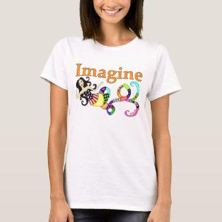 人魚を想像して下さい Tシャツ