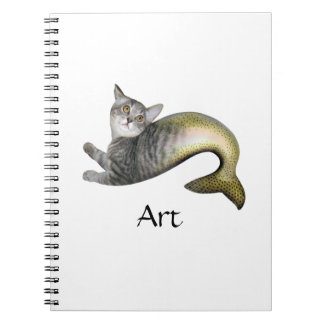 人魚猫 ノートブック